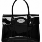 Mulberry Patent Black Bayswater