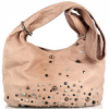 Sara Berman Slouchy Studded Leather Bag
