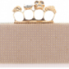 Skull Knuckle Duster Clutch