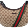 Gucci Monogrammed Canvas Shoulder Bag