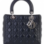 Lady Dior media quilted Nappa Bag