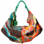 Missoni Oversized Satin Shoulder Bag
