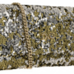 D&G Gold and Silver Toned Sequin Clutch