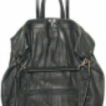 Elena Ghisellini Distressed Calfskin Trolley Luggage