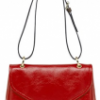 Mulberry Red Patent Neely Shoulder bag