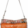 Missoni Printed Leather and Knit Shoulder Bag