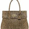 Mulberry Camel leopard haircalf Bayswater tote