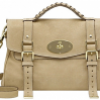Mulberry Natural Summer Tweed Alexa Bag