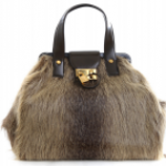 Marc Jacobs Fur Bowling Bag