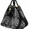 Dolce & Gabbana Lace and Nappa Tote
