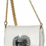 Dolce & Gabbana Swarovski and Python Bag
