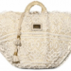 Dolce & Gabbana Woven Sicilian Straw and Lace Tote