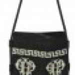 Emilio Pucci Embroidery Canvas Shoulder Bag