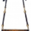 Emilio Pucci Python and Tiger Eye Stone Shoulder Bag