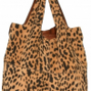 Givenchy George V Leopard Print Nappa Tote