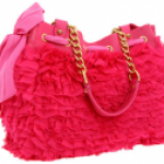 Juicy Couture Luxe Day Dreamer Chiffon bag