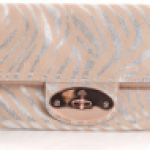 Mulberry tiger print Bayswater clutch