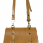 Bally Canvad and leather shoulder bag