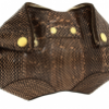 Alexander McQueen Flesh Optic Snake De-Manta Clutch