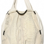 De Couture Nappa and Python Tote