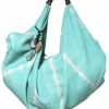 Lagalma Tie Dyed Leather Hobo