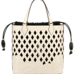 Maddalena Marconi Cut out Leather tote