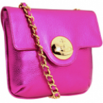 Vivienne Westwood pink Serpentine Small Chain bag