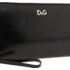 D&G Black metallic clutch