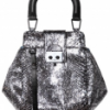 Pautric Sweeny Shiny Python Crossbody Shoulder Bag