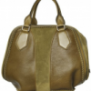 Burberry Prorsum olive Luggage Bowling Bag