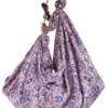 Orion Printed Satin Foulard Bags