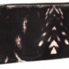 Alexander McQueen Continental Zip Wallet Peppered Pony Print