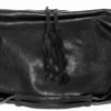 De Couture Cracked Shiny Lambskin Shoulder Bag