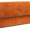 Marc by Marc Jacobs Airmail Suede Long Clutch