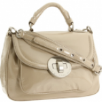 Marc by Marc Jacobs Patent Exploded Dot Lock petite Rue Tote
