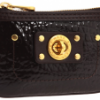 Marc by Marc Jacobs Turnlock Shine Key Pouch