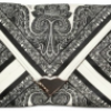 Etro Envelope Silk Clutch