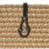 Jimmy Choo Lucky Woven Rope and Elaphe Clutch