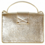 Jimmy Choo Rebel Glitter Leather Shoulder Bag