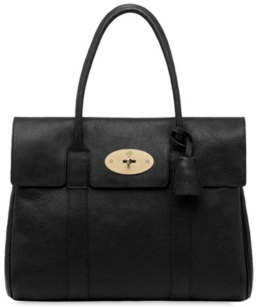 Mulberry bayswater black Croc Choc Mulberry Bayswater