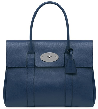 Mulberry bayswater blue Croc Choc Mulberry Bayswater