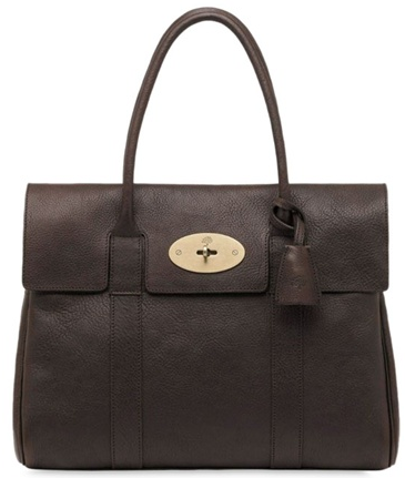 Mulberry bayswater brown Croc Choc Mulberry Bayswater
