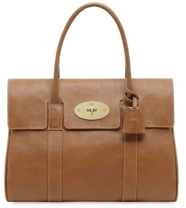 Mulberry bayswater light brown Croc Choc Mulberry Bayswater