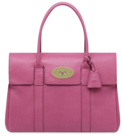 Mulberry bayswater pink Croc Choc Mulberry Bayswater