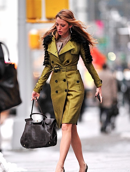 mulberry bayswater blake lively Mulberry Oak Bayswater