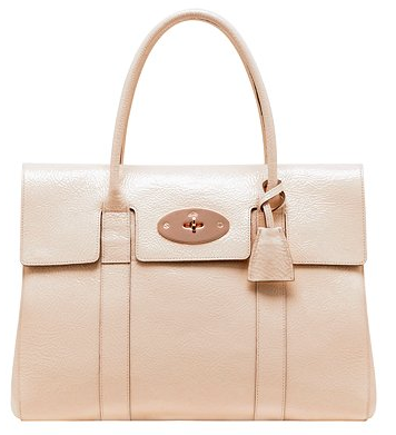 mulberry bayswater1 Mushroom Mulberry Bayswater Glazed Goat Bag