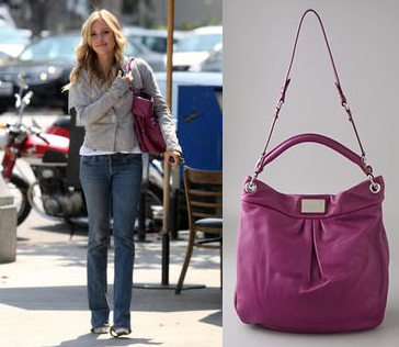 kristen cavallari marc by marc jacobs classic q hillier hobo