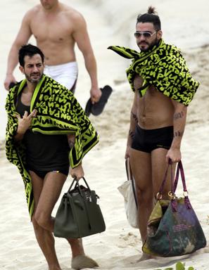 marc jacons hermes berkin louis vuitton Marc Jacobs and Lorenzo Martone