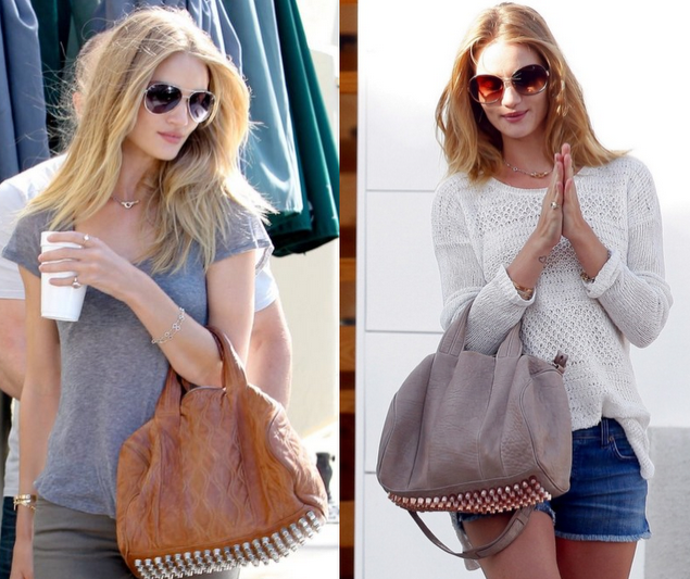 Rosie Huntington Whiteley Alexander Wang Rocco