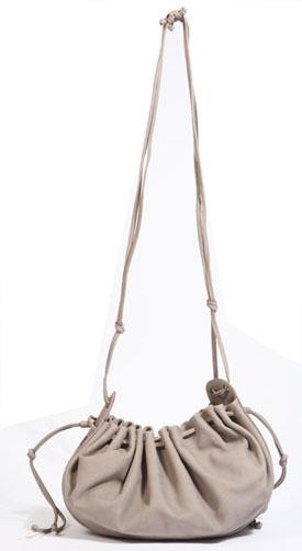 Vanessa Bruno Saz Drawstring Pouch handbag glamour glamour magazine Vanessa Bruno Saz Drawstring Pouch Bag